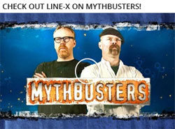Check Out Line-X on Mythbusters