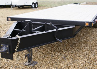Flatbed Sprayed With Line-X Polyurethane Protective Coatings