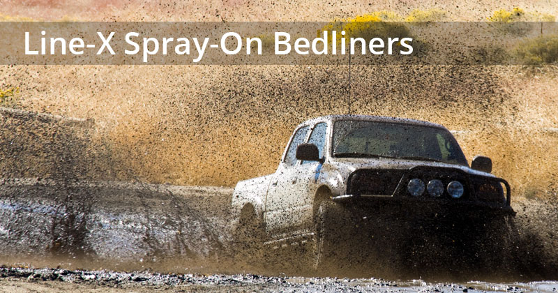 Line-X Spray-On Bedliners
